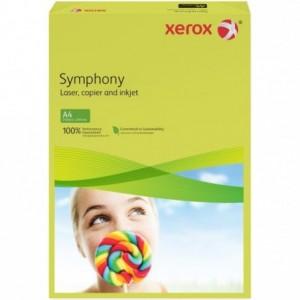 Hartie A4 galben neon Neon, 160 g/mp, 250 coli/top, XEROX Symphony - ACOMI.ro