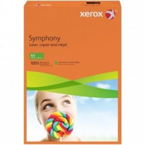 Hartie A4 portocaliu neon Neon, 160 g/mp, 250 coli/top, XEROX Symphony - ACOMI.ro