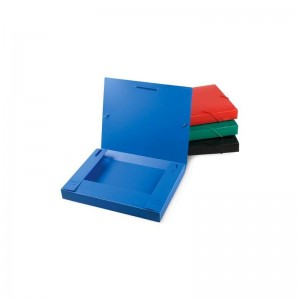 Mapa plastic rigid burduf 40mm cu elastic, negru, ACM BRAND - ACOMI.ro
