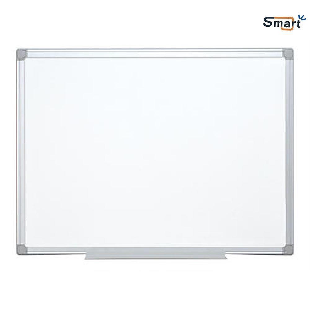 Tabla magnetica alba 90 x 180 cm, rama de aluminiu - SMART