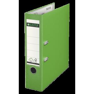 Biblioraft plastifiat, 8.0cm, verde deschis, Leitz 180° - ACOMI.ro