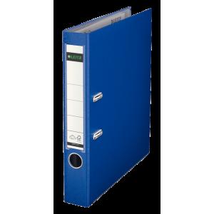 Biblioraft plastifiat, 5.2cm, albastru, Leitz 180° - ACOMI.ro
