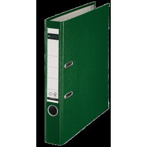 Biblioraft plastifiat, 5.2cm, verde, Leitz 180° - ACOMI.ro