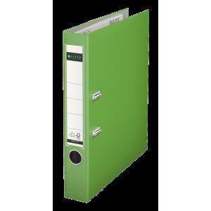 Biblioraft plastifiat, 5.2cm, verde deschis, Leitz 180° - ACOMI.ro