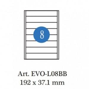 Etichete autoadezive biblioraft 5cm, 8/A4, 100 coli/cutie, ACM BRAND - ACOMI.ro
