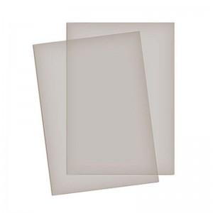 Coperti plastic transparente color A4, 200 microni, fumuriu, ACM BRAND