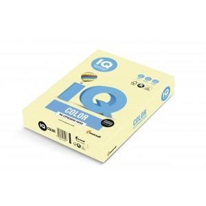 Hartie A3 galben Pastel, 160 g/mp, 250 coli/top, IQ Color - ACOMI.ro