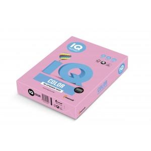 Hartie A4 roz Pastel, 80 g/mp, 500 coli/top, IQ Color - ACOMI.ro