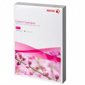 Hartie Xerox Colotech Superlucios A3, 250 g/mp, 100 coli/top - ACOMI.ro