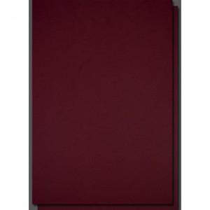 Coperti carton imitatie piele A4, 250g/mp, visiniu, ACM BRAND