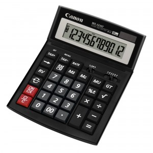 Calculator de birou, 12 digits, CANON WS-1210T - ACOMI.ro