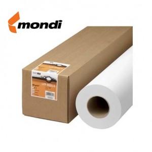Rola hartie plotter A1+, 80g/mp, 620mm x 175m, MONDI - ACOMI.ro
