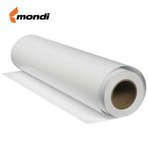 Rola hartie plotter A2, 80g/mp, 420mm x 50m, MONDI - ACOMI.ro