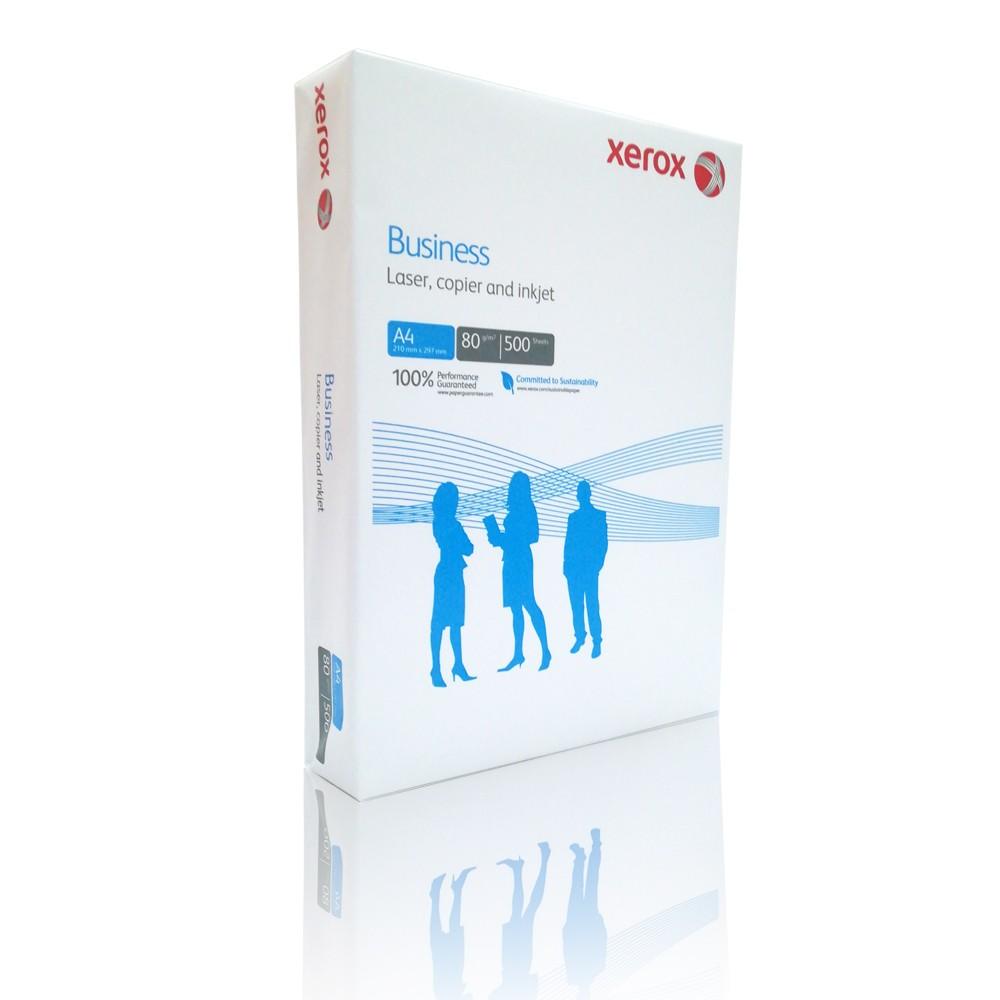 Hartie copiator A4, 80g/mp, 500 coli/top, XEROX Business - ACOMI.ro
