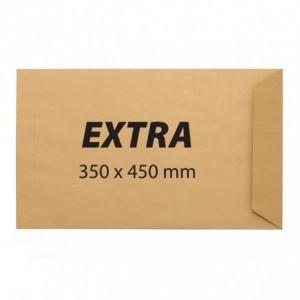 Plic extra 350x450 gumat, kraft, GPV - ACOMI.ro