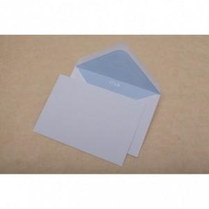 Plic C6 (114x162mm) gumat, clapa V, alb, 1000 buc/cutie, GPV - ACOMI.ro