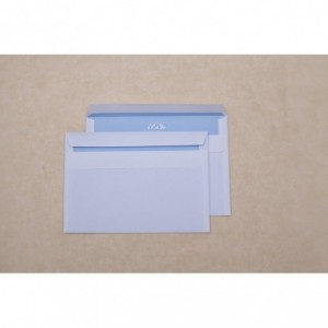 Plic C6 (114x162mm) autoadeziv, alb, 1000 buc/cutie, GPV - ACOMI.ro