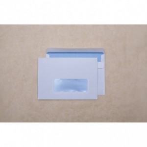 Plic C6 (114x162mm) autoadeziv, fereastra dreapta, alb, 1000 buc/cutie, GPV - ACOMI.ro
