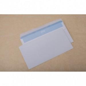 Plic DL (110x220mm) autoadeziv, alb, 1000 buc/cutie, GPV - ACOMI.ro