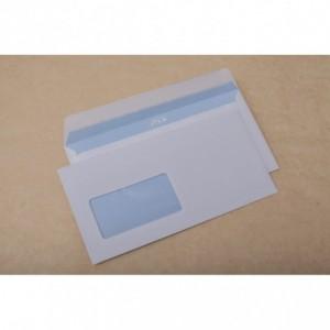 Plic DL (110x220mm) siliconic, fereastra stanga, alb, 1000 buc/cutie, GPV - ACOMI.ro