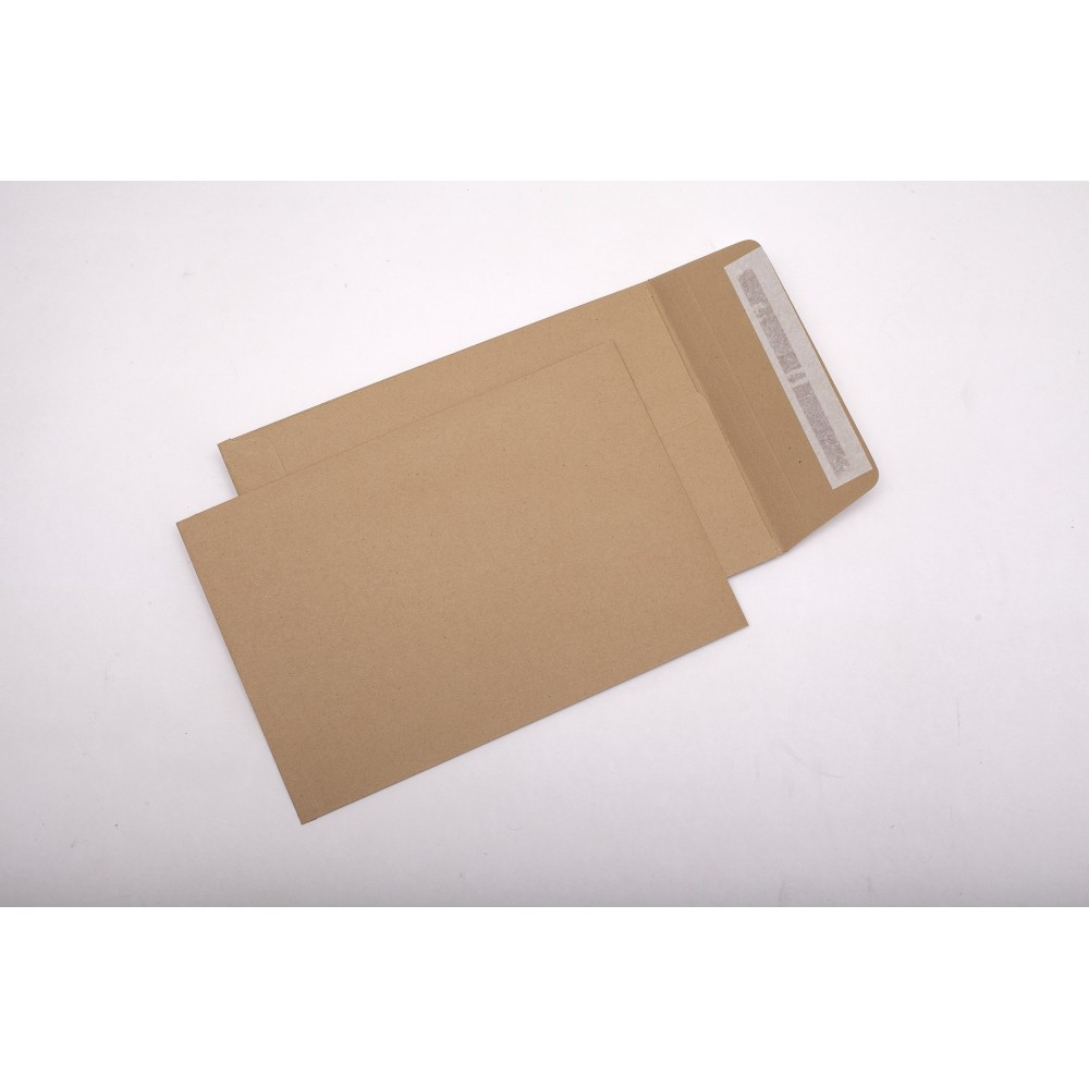 Plic cu burduf C5 (162x229x20mm) siliconic, kraft, tip T, GPV - ACOMI.ro