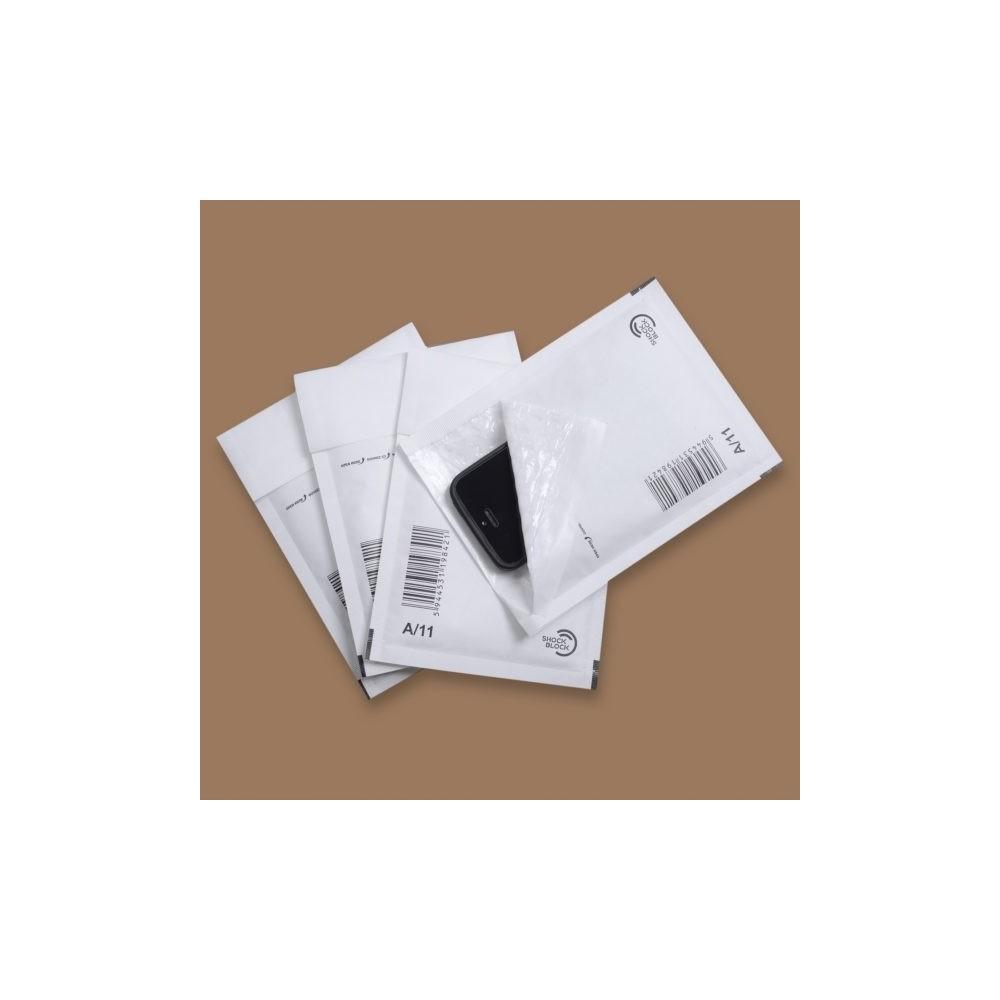 Plic cu bule aer (int. 100x165mm), alb, GPV - ACOMI.ro