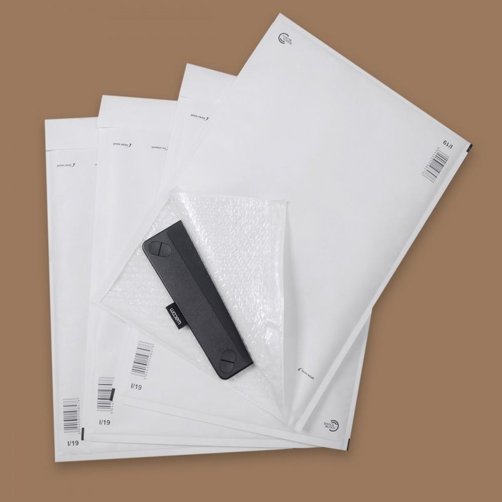 Plic cu bule aer (int. 300x445mm), alb, GPV - ACOMI.ro