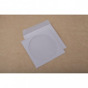 Plic CD (124x127mm) gumat, 90g/mp, GPV - ACOMI.ro