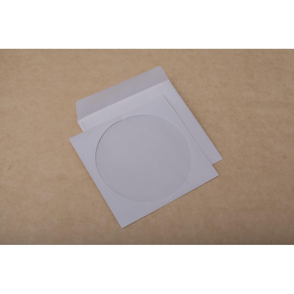 Plic CD (124x127mm) gumat, 90g/mp, 1000 buc/cutie, GPV - ACOMI.ro