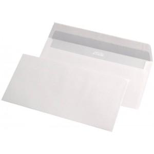 Plic DL (110x220mm) siliconic, alb, 1000 buc/cutie, GPV - ACOMI.ro