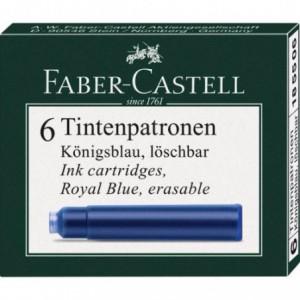 Cartuse cerneala mici Faber Castell - albastru