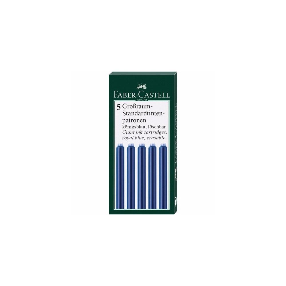 Cartuse cerneala mari Faber Castell - albastru