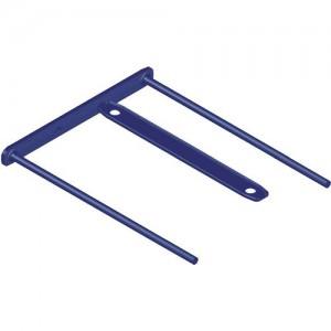 Alonje de mare capacitate cu insertie metalica, 100 buc/set, albastru, Fellowes - ACOMI.ro