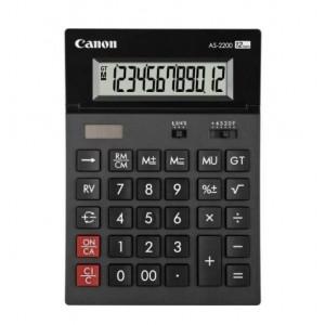 Calculator de birou, 12 digits, CANON AS-2200 - ACOMI.ro