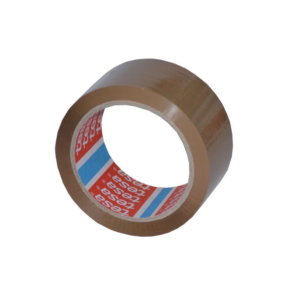 Banda adeziva 48mmx66m maro, TESA - ACOMI.ro