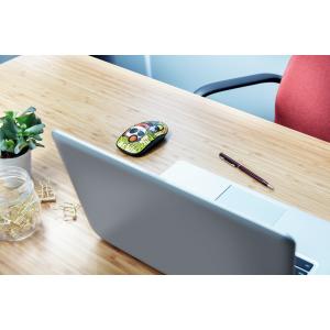 Mouse wireless 1600 dpi, galben, TRUST Sketch Silent Click- ACOMI.ro