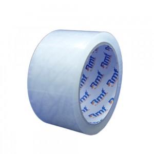 Banda adeziva 48mmx60m, 40 microni, transparenta, RMF Power - ACOMI.ro