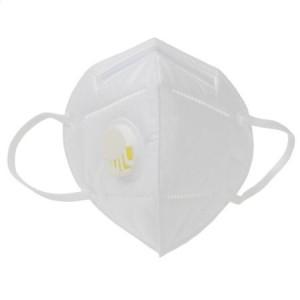 Masca de protectie cu valva de expiratie, 5 straturi KN95/FFP2 - ACOMI.ro