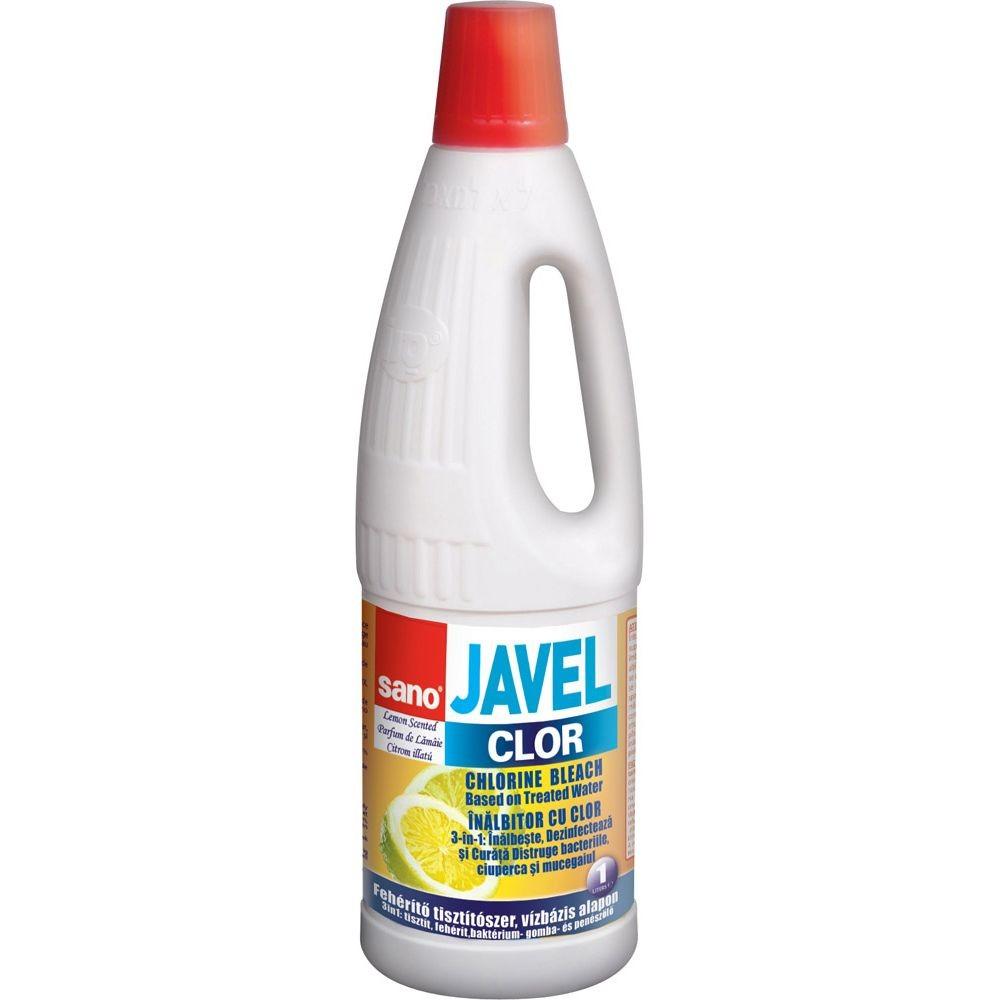 Clor Sano Javel lemon, 1 litru - ACOMI.ro