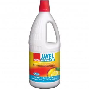 Clor Sano Javel lemon, 2 litru - ACOMI.ro