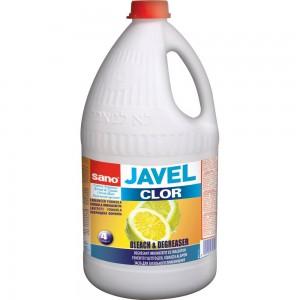 Clor Sano Javel lemon, 4 litri - ACOMI.ro