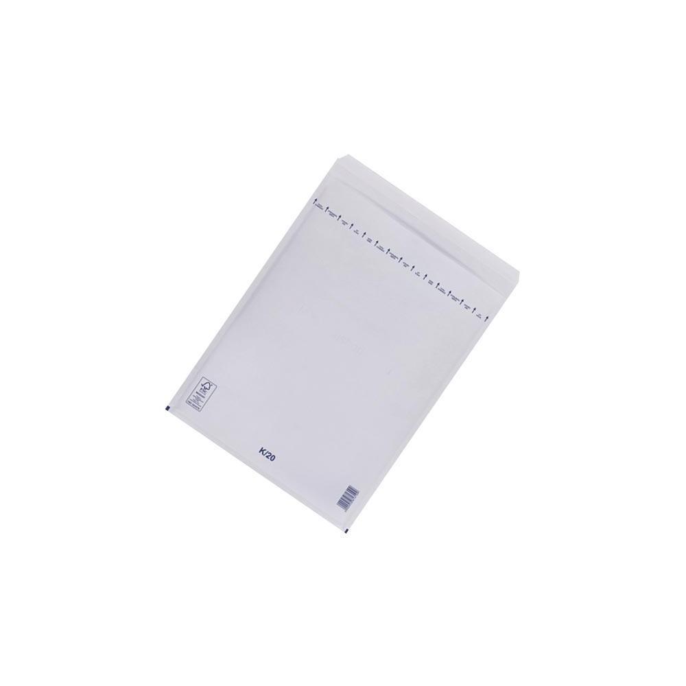 Plic cu bule antisoc K20 (ext. 370x480mm), alb, unitar, RKV - ACOMI.ro