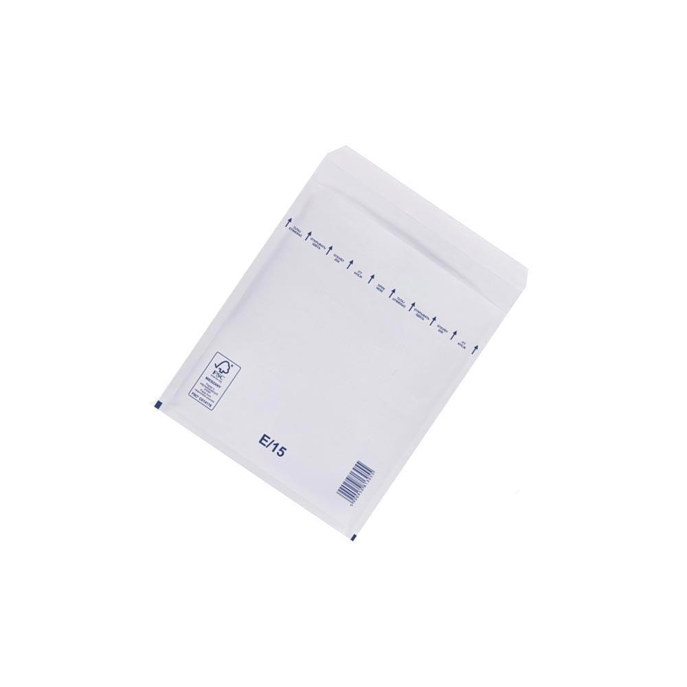 Plic cu bule antisoc E15 (ext. 240x275mm), alb, 100 buc/cutie, RKV - ACOMI.ro
