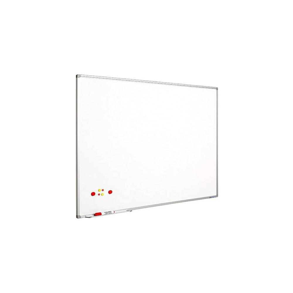 Tabla magnetica alba SMIT 90x120 cm, rama de aluminiu