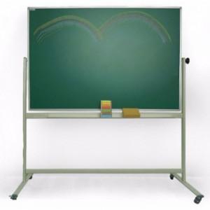 Tabla scolara SP pentru scris cu creta 200 x 100 cm, pe stand mobil - MAGNETOPLAN