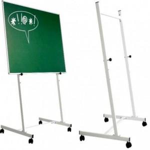 Stand metalic mobil SMIT, 90cm x 150cm(lxh), 3 pozitii fixe