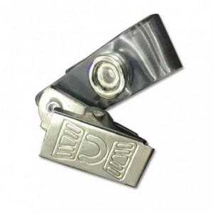 Clips metalic pentru ecuson, 100 buc/set, KEJEA