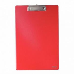Clipboard simplu A4 rosu, plastifiat PVC, ESSELTE Standard · ACOMI.ro