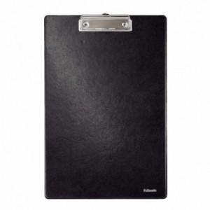 Clipboard simplu A4 negru, plastifiat PVC - ESSELTE
