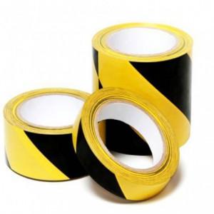 Banda adeziva de marcare galben/negru